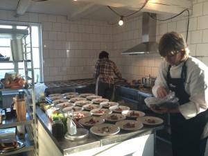 Ulrika Brydling hälsade på hos oss och invigde nya köket